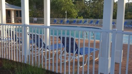Aluminum Fence to Meet Pool Code for Development in Panama City Beach