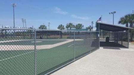 Chain Link at Miracle Park Frank Brown Park