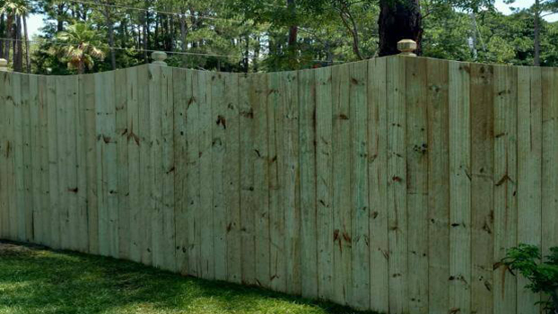 Wood Fence Installation Gulf Fence Amp Construction Co